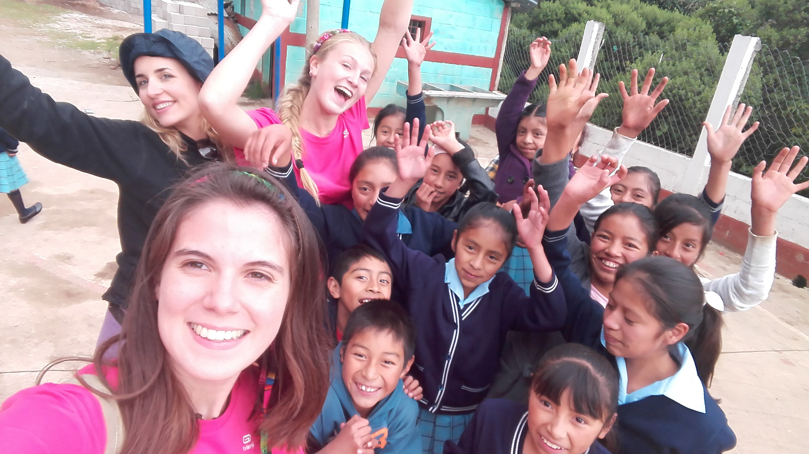 This summer I volunteered at the work camp in Guatemala.